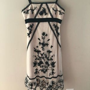 BCBG Lace Crochet Dress Size S